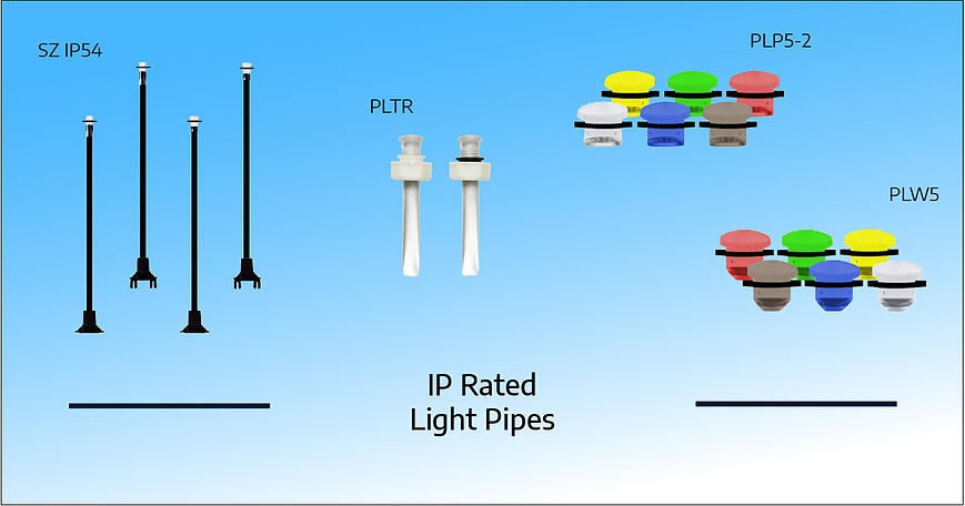 IP Rated Light Pipe Banner